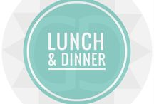 >> Recipes  || Lunch & Dinner