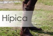 Botas de hípica, botas de montar. Riding Boots / Botas de montar y de moda de estilo hípico, fabricadas por Dakota Boots de Valverde del Camino