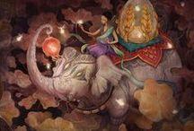 Corrine Reid illustrations  / Corrine Reid is a freelance illustrator from Salem,MA