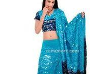 Lehenga Choli / Lehenga Choli - Indian Traditional Lehenga Choli Women's Wear 100% Pure Cotton and Skin Friendly Fabric.