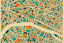 Stuff | Maps / by Zenobia Lay