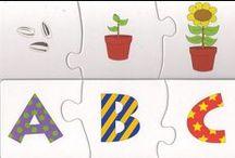 Logika 1 /  puzzle, skladačky, čo tam patrí - nepatrí,orientácie, počty