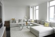 Interiors + Design / Interior design projects, gorgeous rooms furnished by #CliffYoungLtd.