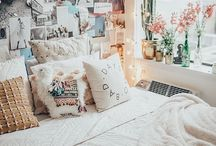 the bedroom / A bunch of inspiration for my bedroom