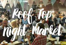 Roof Top Night Market / The Roof Top Night Market's vendors.