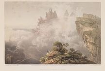 Bossoli's Views in the Crimea / Comprising part of a bound volume, The Beautiful Scenery and Chief Places of Interest throughout The Crimea from Paintings by Carlo Bossoli is a series of 52 lithographic prints made from paintings done by Bossoli, during his youth in the Crimea, from 1840 to 1843, and published in London in the 1850s. The volume is held by the DeGolyer Library, Southern Methodist University.