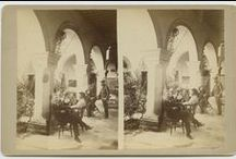 Stereographs of Mexico / Stereographs of Mexico collection is a set of 103 photographic prints on stereo cards, taken between 1860-1910, and held by the DeGolyer Library, Southern Methodist University. Stereographs of Mexico show towns, markets, churches, Indians, mining, caves, landscapes and architectural views in Cholula, Guadalajara, Mexico City, Monterrey, Puebla, Orizaba, Ameca-meca, Tampico, Vera Cruz, and Zacatecas.