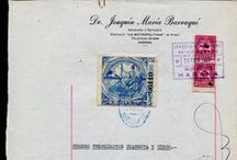 Revenue Stamps Collection of Cuba / Old Revenue stamps from Cuba