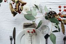 DINING / All about dining - table set up and decor