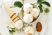 ICE CREAM / Gelato, ice cream, sorbet, popsicles and many other frozen treats