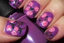 Nails:Flowers&Ladybugs