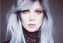 Hair / Haircolors - Pastel - Orange - Braids