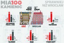 Infographics / My work.
