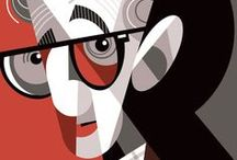 Woody Allen / J'adore son univers! / by Anne-Marie Pepin