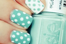 Nails:Polka Dots&Paint