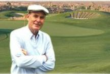 """P.B. """"Pete"""" Dye / Paul B. Dye is a world-renowned golf course designer and a member of a famous family of course designers. Dye received the 2003 Old Tom Morris Award from the Golf Course Superintendents Association of America, their highest honor. In 2005, he became the sixth recipient of the PGA Tour Lifetime Achievement Award. He was inducted into the World Golf Hall of Fame in November, 2008 in the Lifetime Achievement category. Dye also was named Architect of the Year by Golf World magazine."""