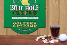 19th Hole / The Nineteenth hole is a slang term used in golf, generally referring to a pub, bar, or restaurant on or near the golf course, very often the clubhouse itself. A standard round of golf has only eighteen holes, so golfers will say they are at the 'nineteenth hole', meaning they are enjoying a drink after the game. The concept is similar to Après-ski in skiing or After-beach in Punta Cana. See www.golfpuntacana.com.