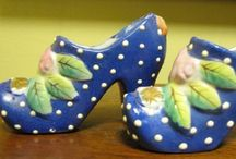 Glass Slippers / Shoes on my feet and shoes on my shelf! / by Lisa Carole