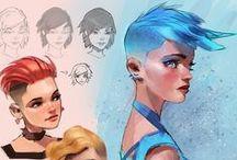 Hair style (FEMALE)