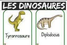 Dinosaures pour les enfants / Parce que beaucoup d'enfants aiment les dinosaures www.mieuxenseigner.com vous propose une sélection d'outils d'enseignements avec les terreurs du mésozoïque, nos amis les dinosaures.