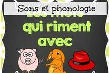 Sons et la phonologie / Étudier les différents sons et la phonologie est important pour le développement de l'enfant.