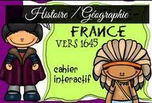 Histoire / Géographie / Enseigner l'histoire et la géographie est toujours un plaisir.