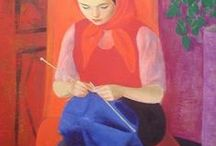 Knitting in Art / by Mary McGurn