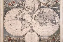Antique Maps / A Selection of some of our favorite antique maps