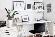 ・ Bureau Basics ・ / workspace inspiration pics & stationary faves