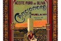 Vintage Olive Oil Labels / Vintage Olive Oil Labels