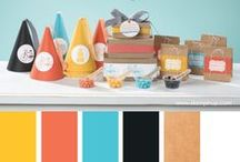 Stampin' Up! Colour Inspirations & Combinations