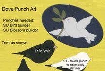 Stampin Up UK Punch Art