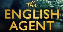The English Agent / A mood board of images that inspired my book, The English Agent (Simon & Schuster)