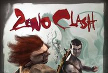 Zeno Clash / http://store.steampowered.com/app/22200/ Zeno Clash is an action/fighting game set in a punk fantasy world. The game is played from a first person perspective and the combat is generally up close and brutal.  Experience a deep storyline set in a fantastic world.  Official website: http://zenoclash.com/  Get it on  Steam: http://store.steampowered.com/app/22200  Xbox Live: http://marketplace.xbox.com/Product/Zeno-Clash-UE/66acd000-77fe-1000-9115-d802584109dc