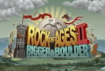 "Rock of Ages II: Bigger and Boulder / Rock of Ages II: Bigger & Boulder is a game that improves on all aspects of the original. Up to 4 players can battle in crazy boulder mayhem. New impressive art periods, more historical characters and the funniest story clips we've ever made. All rendered with highly improved destruction / physics and effects - powered by our first Unreal Engine 4 game.  You can wishlist and ""follow"" the game on Steam now! :) http://store.steampowered.com/app/434460/  Official Website: http://www.rockofages2.com"