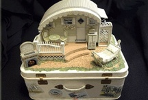 Our Miniature Trailers / Miniature Kits available from Robin Betterley's Miniatures