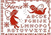 Punto croce Alfabeti e Monogrammi