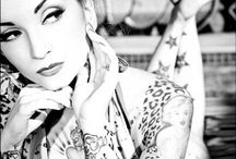 Tattoos and pin up / Tattoo