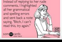 Grammar / by Bren