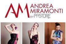 Andrea Miramonti by Pastore 2014 / Abiti Sera e Cocktail dalle linee leggere e giovanili e dalle trasparenze dei tulli e dei tessuti di seta.