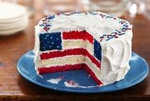 Red, White & Blue / Ideas for the 4th of July.