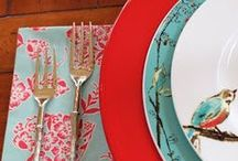 Blog Mentions / Beautiful place settings and photos from our blogger friends!