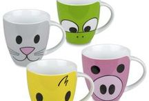 Critters & Creatures / Cute critters and animal-themed mugs.