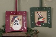Christmas Decor Snowmen Ornaments