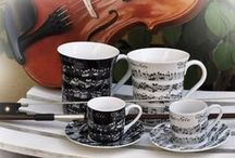 Art & Music Mugs / All about the arts - mugs for art, music, and more.