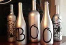 Halloween Wine ideas / Halloween cocktail recipes, Wine crafts for Halloween #Halloween #Wine