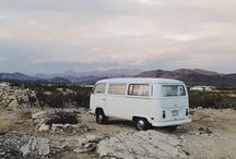 ROADTRIP Inspiration / Let's go an a Road Trip!
