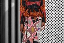 African inspired / The continent of Africa, it's beauty and inspiration.