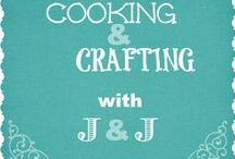 Cooking & Crafting with J & J Monday Link Up Party Features / Cooking and Crafting with J & J Link Up - Monday's Features from Bloggers