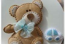 Cucito creativo: orsetti, coniglietti e bambole
